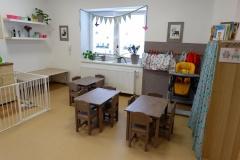 Prostory dětské skupiny Holubníček